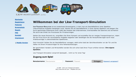 Lkw-Transport-Simulation